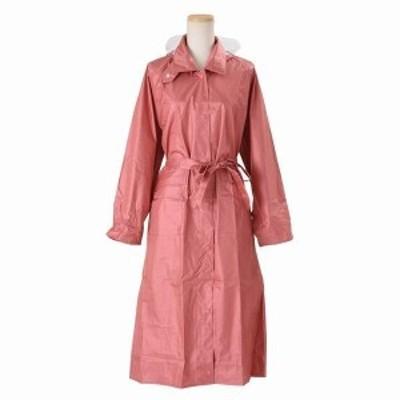 レインコート レインウエア コート レディースファッション レインウェア 日本製 婦人用 おしゃれ 快適 視界を遮らない 透明ひさし付