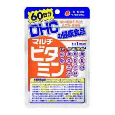 【メール便送料無料】 DHC マルチビタミン 60日分 60粒入 1個 サプリメント 栄養機能食品