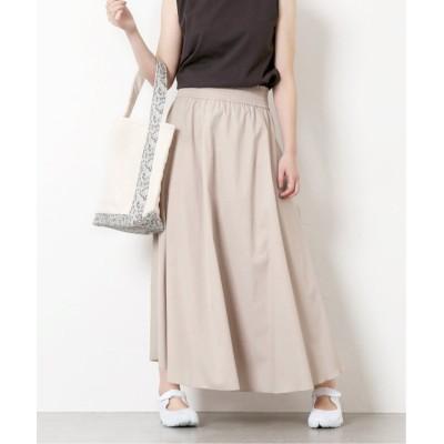 【ジャーナルスタンダード】 スラブクロスギャザースカート◆ レディース ナチュラル 36 JOURNAL STANDARD