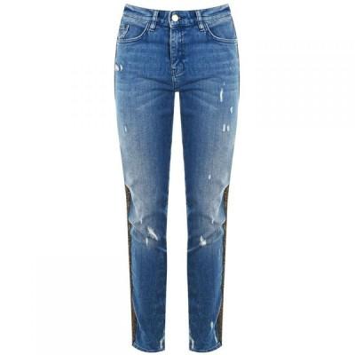 【残り1点!】【サイズ:16-(XL)】ビバ Biba レディース ボトムス・パンツ ジーンズ・デニム Billie Logo Boyfriend Jeans Blue