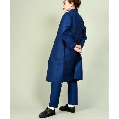 CANVAS MALIBU / 【 Le Sans Pareil / ルサンパレイユ 】COTTON MOLESKIN TRADITONAL ATELIER COAT femme コットンモールスキントラディショナルアトリエコートファム(セットアップ対応) WOMEN ジャケット/アウター > トレ