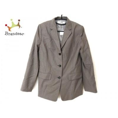 ニジュウサンク 23区 ジャケット サイズ44 L レディース 美品 グレー カシミヤ混 新着 20200916