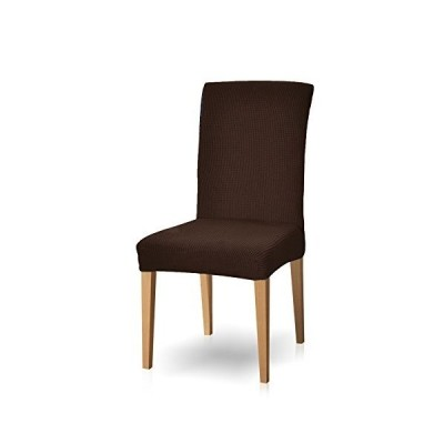 Subrtex 椅子カバー 伸縮素材 フルカバー ストレッチ チェアカバー 柔らかい 無地 イスカバー 背もたれあり 洗