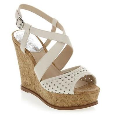 レディース 靴 コンフォートシューズ Vince Camuto Women's ILARIO Wedge Sandal CLOUD CREAM/NAT