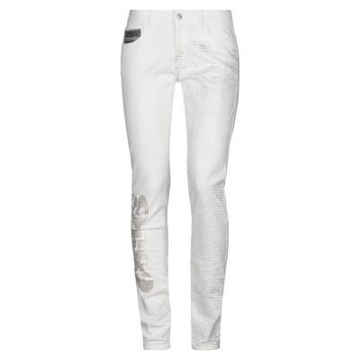 ピアヌラストゥーディ�� PIANURASTUDIO パンツ ホワイト 26 コットン 98% / ポリウレタン 2% パンツ