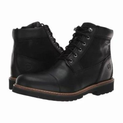 ロックポート ブーツ Marshall Rugged Cap Toe Black