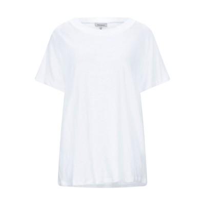 ウールリッチ WOOLRICH T シャツ ホワイト M リネン 100% / コットン T シャツ
