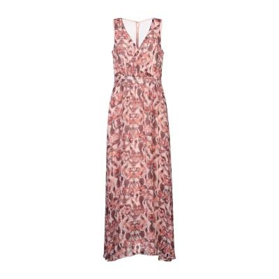 VILA ロングワンピース&ドレス ピンク 38 ポリエステル 100% ロングワンピース&ドレス