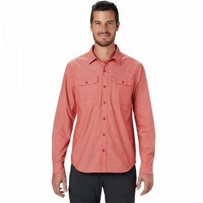 マウンテンハードウェア Mountain Hardwear メンズ シャツ トップス Canyon Pro Long - Sleeve Shirt Desert Red