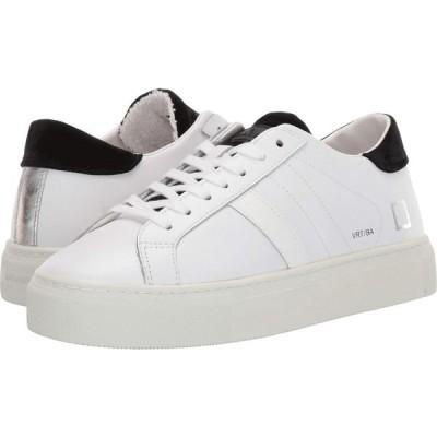 デイト D.A.T.E. レディース スニーカー シューズ・靴 Vertigo White/Black Basic
