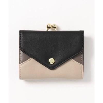 財布 Legato largo 3色三つ折りガマ口財布