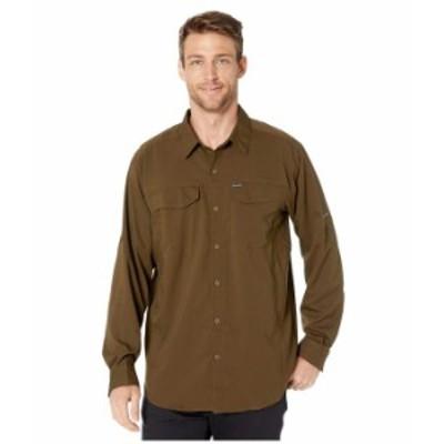 コロンビア メンズ シャツ トップス Silver Ridge Lite¢ Long Sleeve Shirt Olive Green