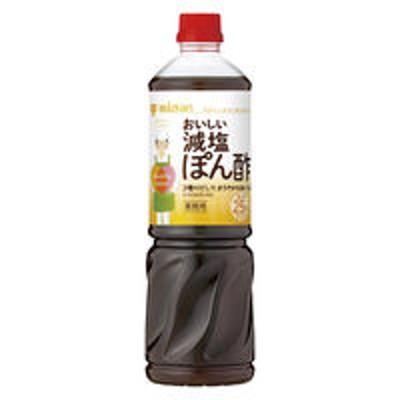 ミツカンミツカン 業務用 Healthy Smileおいしい減塩ぽん酢 1本 ポン酢