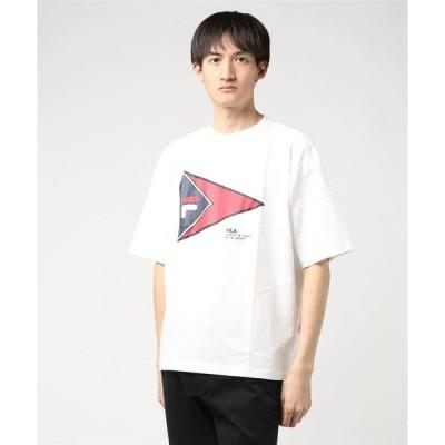 tシャツ Tシャツ フィラ/FILA ビッグロゴ半袖プリントTシャツ