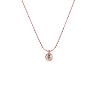K18 ピンクゴールド ダイヤモンド ネックレス