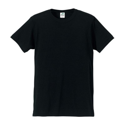 Tシャツ 半袖 メンズ トライブレンド 4.4oz S サイズ ブラック 無地 ユナイテッドアスレ CAB