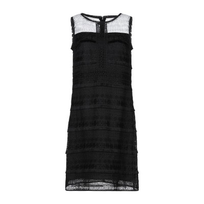PENNYBLACK ミニワンピース&ドレス ブラック 42 ポリエステル 100% ミニワンピース&ドレス