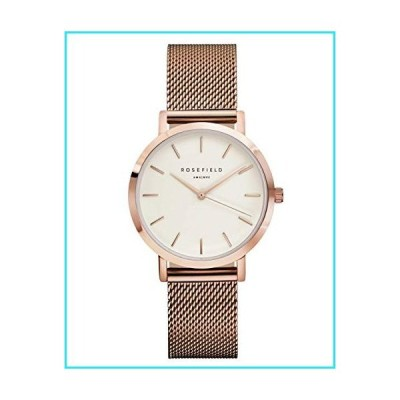 Rosefield Women's Year-Round Quartz Watch with Stainless Steel Strap, Rose Gold, 16 (Model: TWRT50)【並行輸入品】