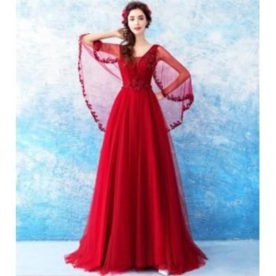 綺麗 二次会ドレス 手作り セール 結婚式 花嫁 パーティードレス  プリンセスライン 素敵 ウエディングドレス 女性 ライダル ワンピース