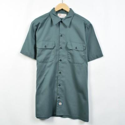 ディッキーズ Dickies 半袖 ワークシャツ メンズL /eaa031604