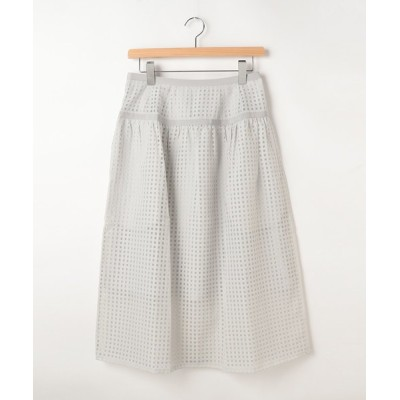 WORLD ONLINE STORE SELECT / arm in armシアー格子柄ミモレスカート WOMEN スカート > スカート
