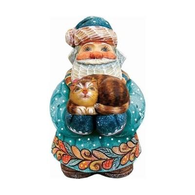 g. DeBrekhtツリーGiver Santa Figurine