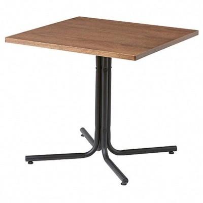 カフェテーブル W75ブラウン 1台