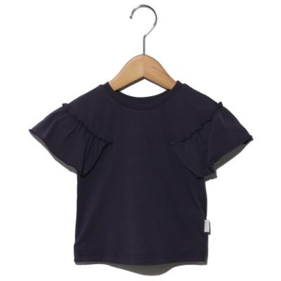 F.O.FACTORY[ベビー&キッズ] (エフ・オー・ファクトリー) 前後2WAY Tシャツ ネイビーブルー 80