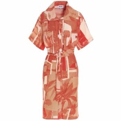 KENZO/ケンゾー Orange High Summer capsule dress レディース 春夏2021 FB52RO03751519 ju