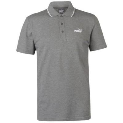 プーマ シャツ メンズ トップス No 1 Logo Pique Polo Shirt Mens