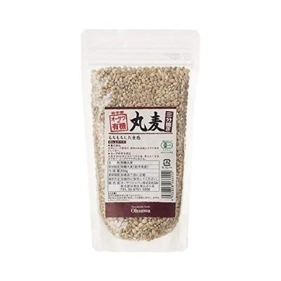 オーサワの有機丸麦(三分搗き)