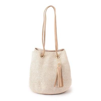 SHOO・LA・RUE(シューラルー) メッシュ巾着ショルダーバッグ