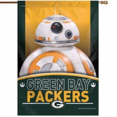 WinCraft ウィンクラフト スポーツ用品  WinCraft Green Bay Packers 28 x 40 Star Wars Single-Sided House Banner