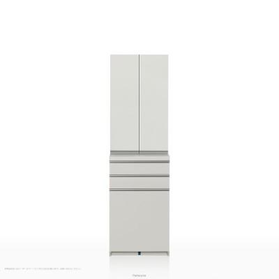食器棚 パモウナ KGシリーズ KG-S600K ハイカウンター [開き扉] (幅60cm, 奥行き45cm, パールホワイト)