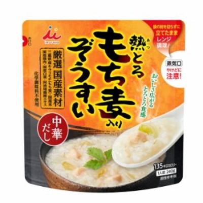 【送料無料】井村屋 もち麦入りぞうすい 中華だし240g袋×1ケース(全24本)