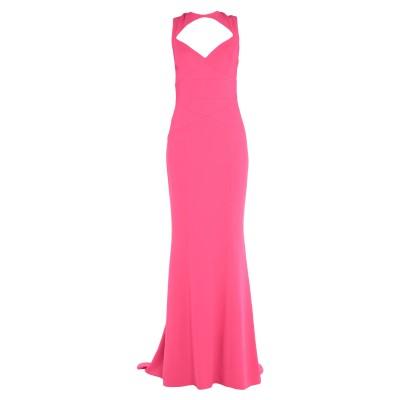 ディースクエアード DSQUARED2 ロングワンピース&ドレス フューシャ 38 レーヨン 95% / ポリウレタン 5% ロングワンピース&ドレス