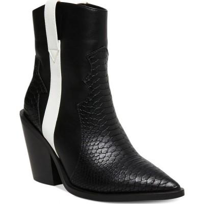 マッデン ガール Madden Girl レディース ブーツ ブーティー シューズ・靴 Holsterr Western Booties Black