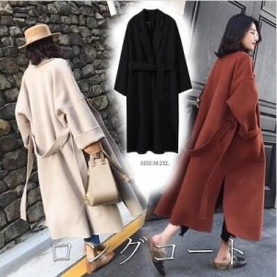 韓国ファッション/トレンチコート 上品 きれいめ 大人 トレンド カジュアル 軽い 暖かい ロングコートエレガント 気質 冬物