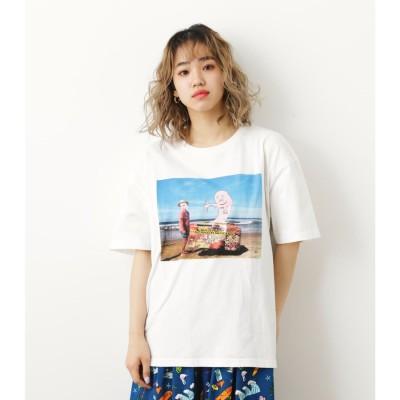 Ryu Ambe×RCSフォトTシャツ 柄BLK5