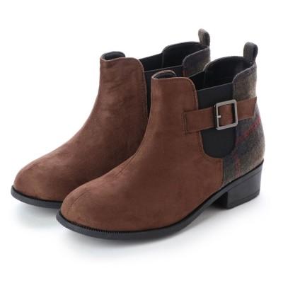 アルペンセレクト Alpen select ジュニア (キッズ・子供) ブーツ サイドゴアベルト付ショートブーツ STK20920 8283