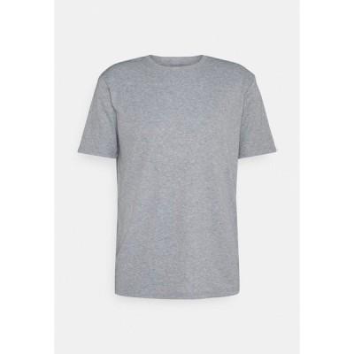 ユアターン Tシャツ メンズ トップス UNISEX - Basic T-shirt - grey