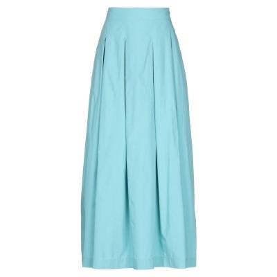 OTTOD'AME ロングスカート ライトグリーン 40 コットン 100% ロングスカート