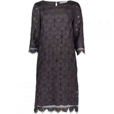 ベティー バークレイ Betty Barclay レディース ワンピース シフトドレス ワンピース・ドレス Lace Shift Dress Grey