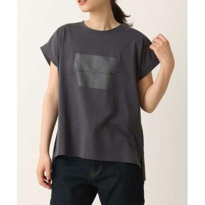 a.v.v/アー・ヴェ・ヴェ ロゴTシャツ[WEB限定サイズ] ダークグレー XS