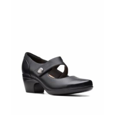 クラークス レディース パンプス シューズ Collection Women's Emily Reaya Pumps Black Leather