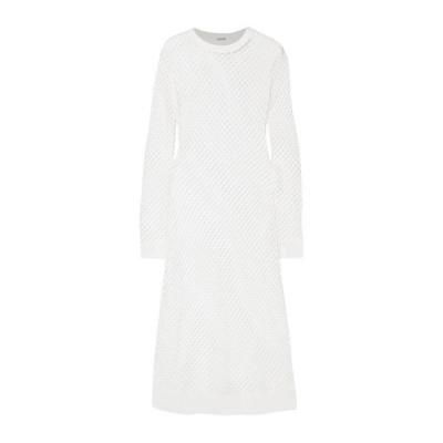 DODO BAR OR チューブドレス ファッション  レディースファッション  ドレス、ブライダル  パーティドレス ホワイト