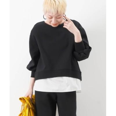 tシャツ Tシャツ LC/LLL 布帛切替プルオーバー