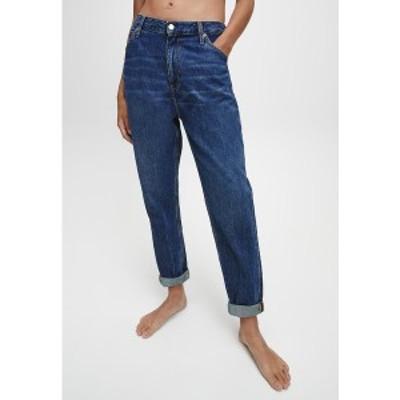 カルバンクライン レディース デニムパンツ ボトムス Relaxed fit jeans - dark blue utility dark blue utility