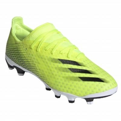 アディダス エックスゴースト.3HG/AG X FW6974 メンズ サッカー スパイクシューズ 2E : イエロー adidas