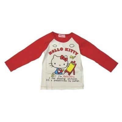 ハローキティー長袖Tシャツ(130)